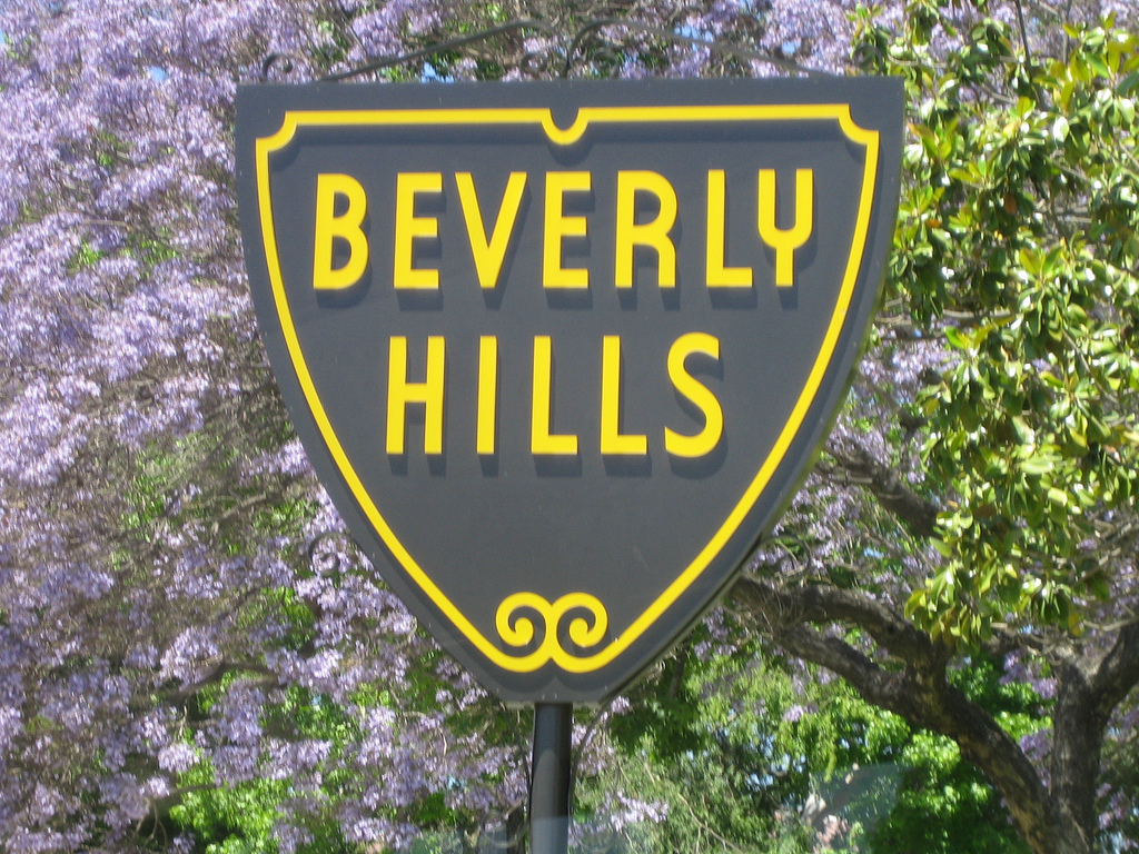 Beverly Hills Sign | ©Jon Lee Clark /Flickr