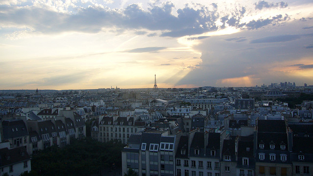 View from the Pompidou|© Kent Wang/Flickr