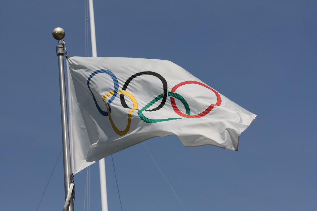 Olympic Flag | © Scazon/Flickr