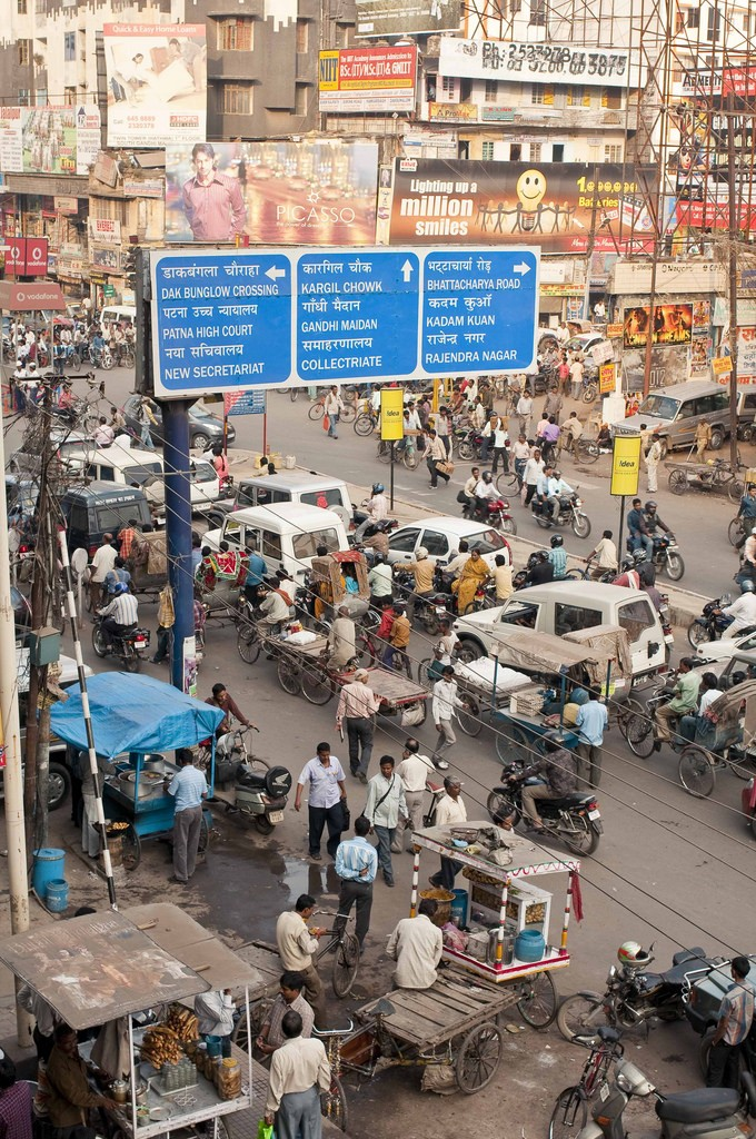 The busy streets of Patna today | ©Flickr/ MM