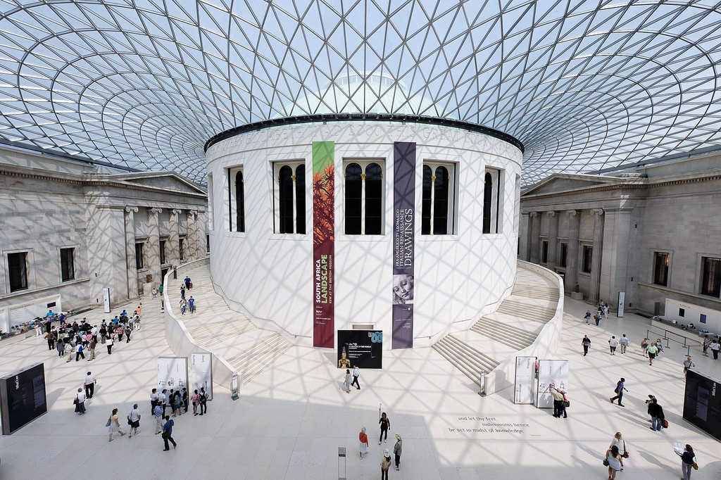 British Museum Great Court © Andrew Stawarz