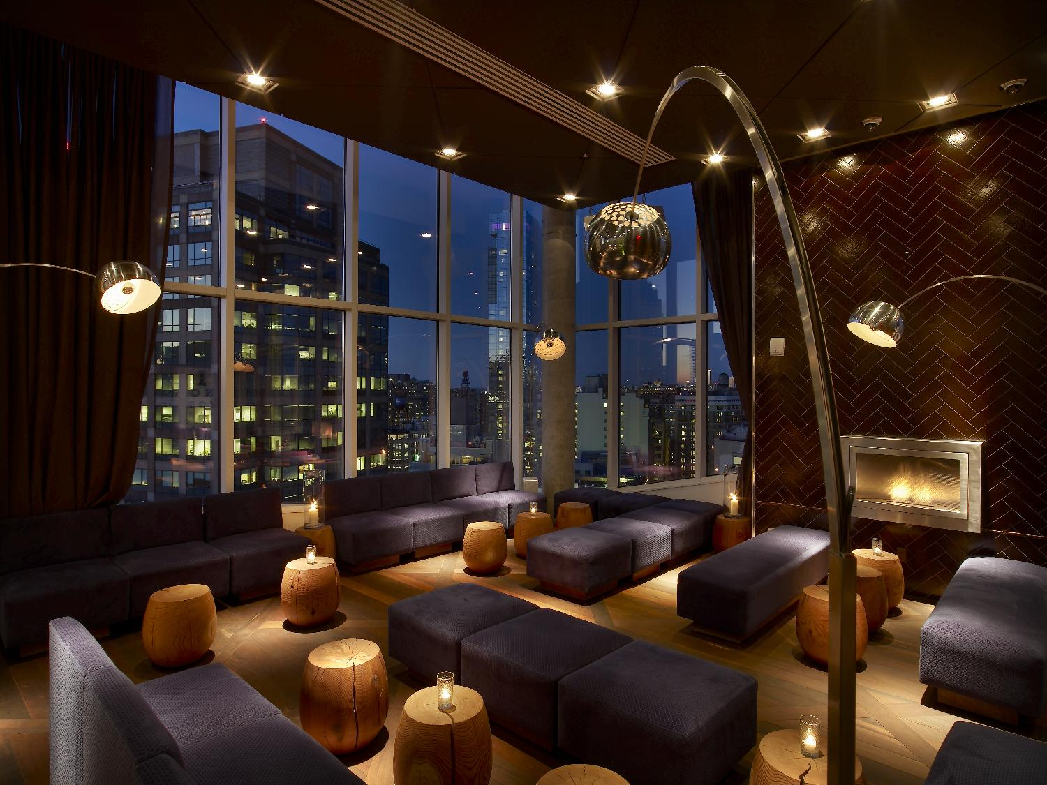 The best hotel bars in new york city for Hippest hotels in nyc