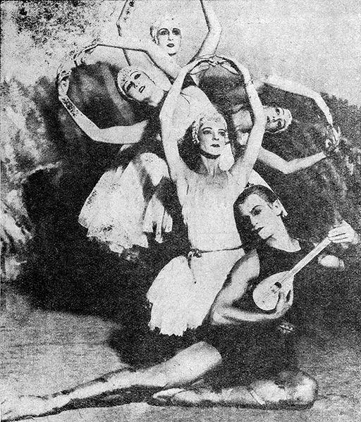 Ballets Russes, 1928 | ©Wikipedia Commons