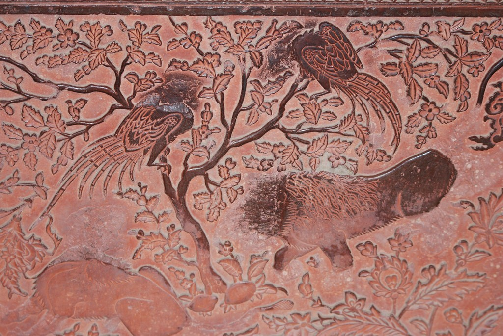 Wall relief at Fatehpur Sikri |© Flickr/Jeff Hart