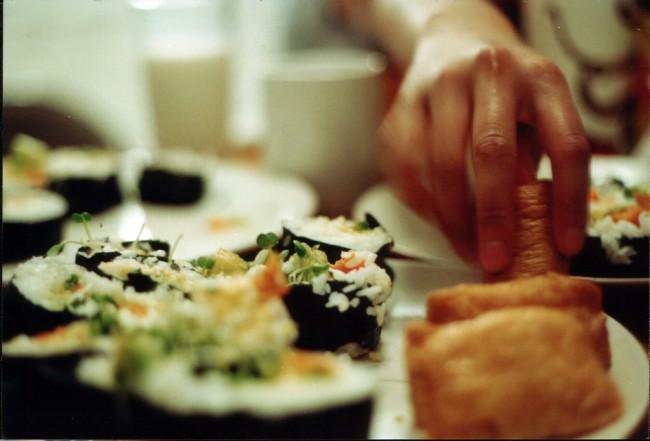 Vegetable Sushi © Marita Cosma
