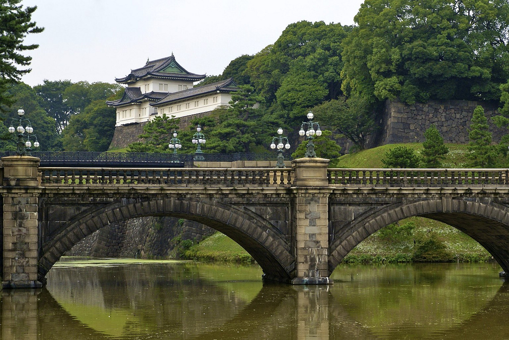 Imperial Palace Gardens Tokyo © Dominik / Flickr