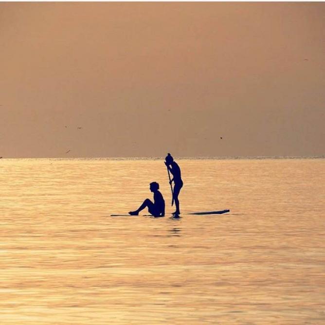 Paddle Boarding   Courtesy of @insta_telaviv