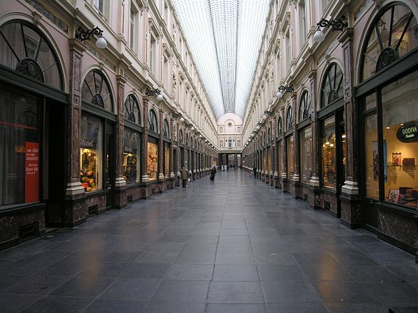 Galeries Royales St. Hubert | Wikipedia