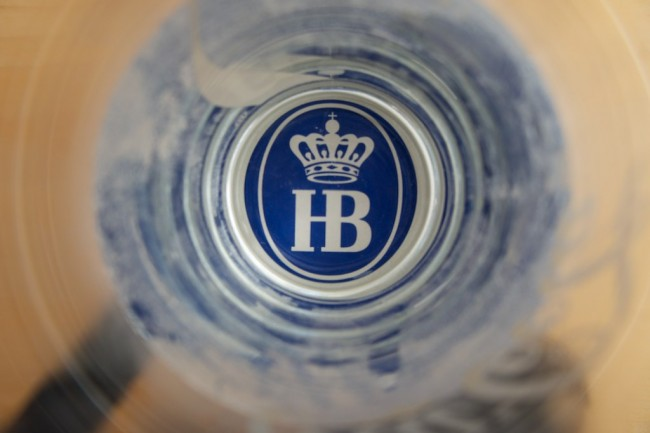 Hofbrau beer © rpleven3/Flickr