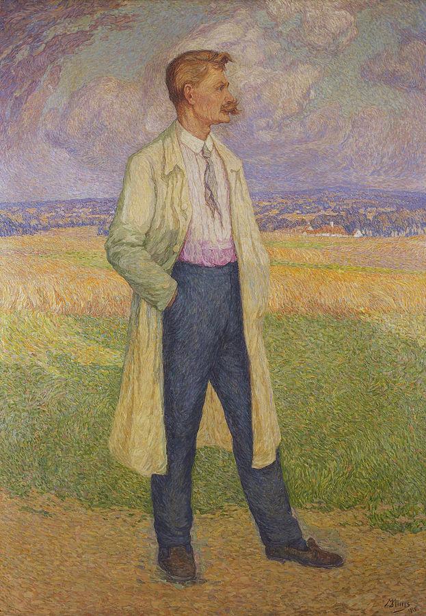 Stijn Streuvels by Modest Huys, 1915/©WikiCommons