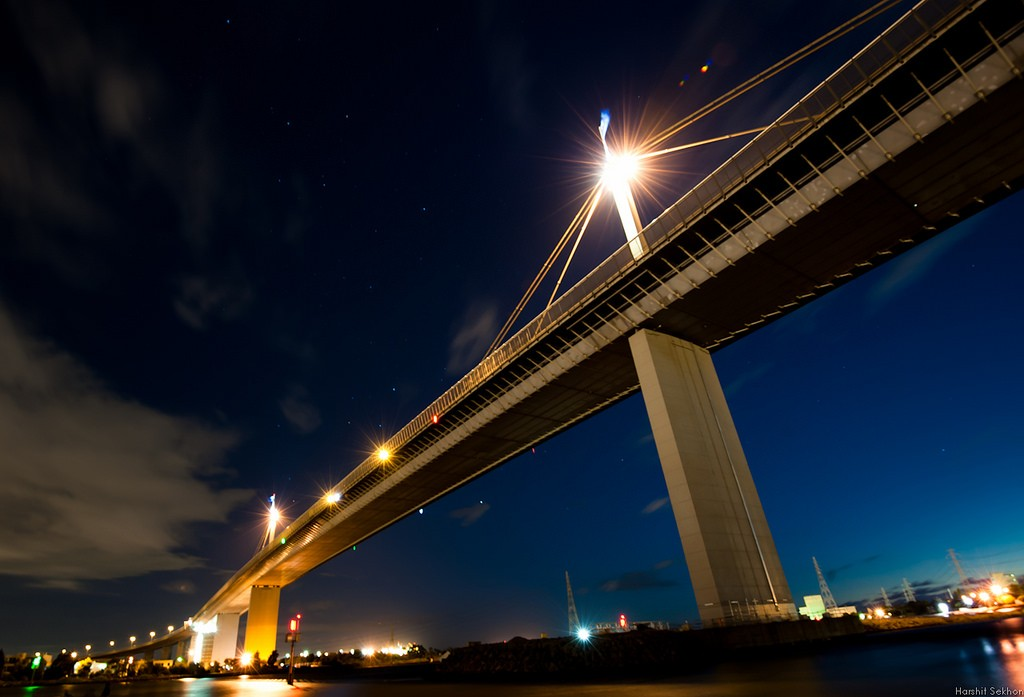 A History Of The Westgate Bridge In One Minute