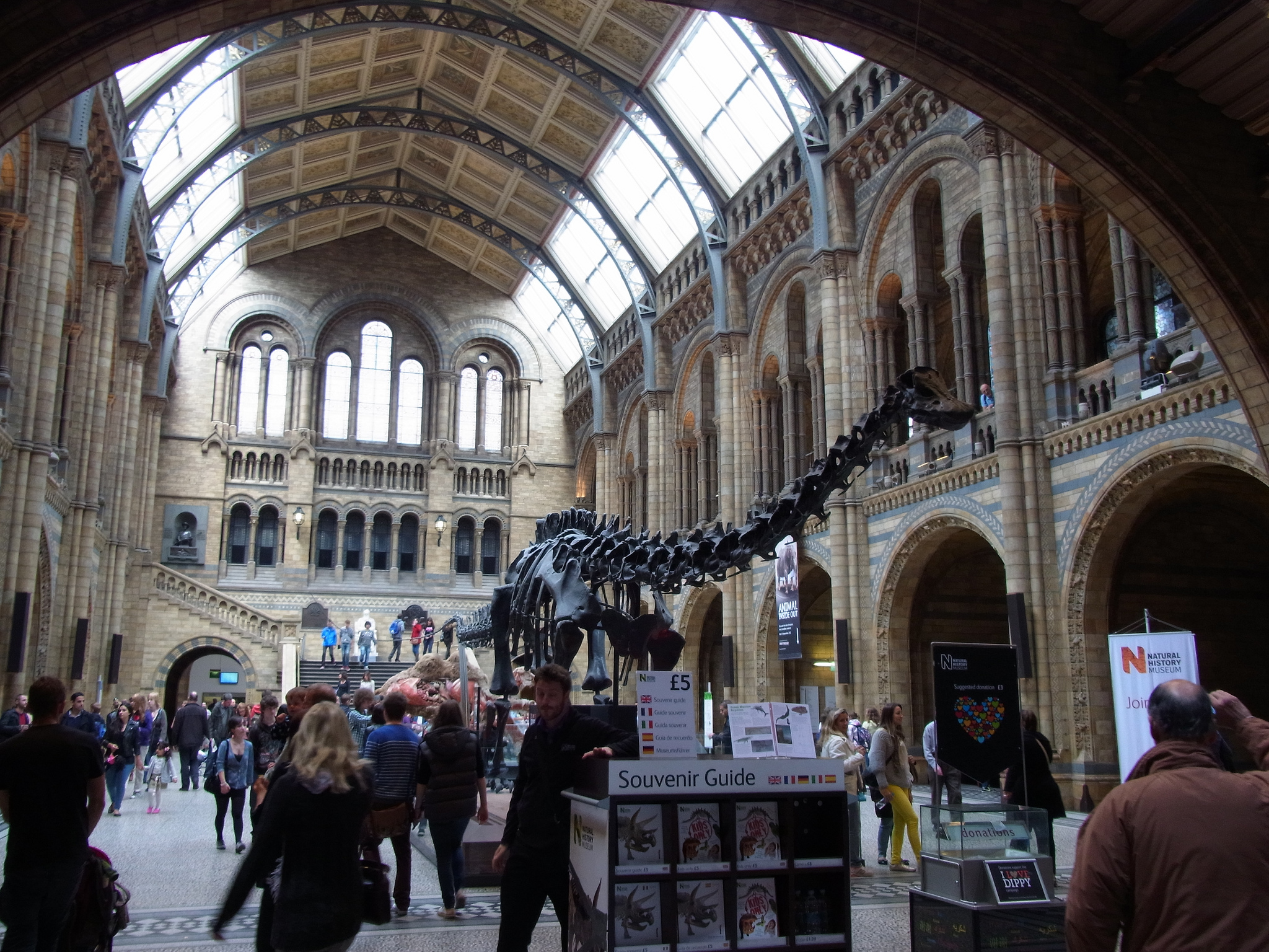 Foyer Museum London : The most visited museums in world