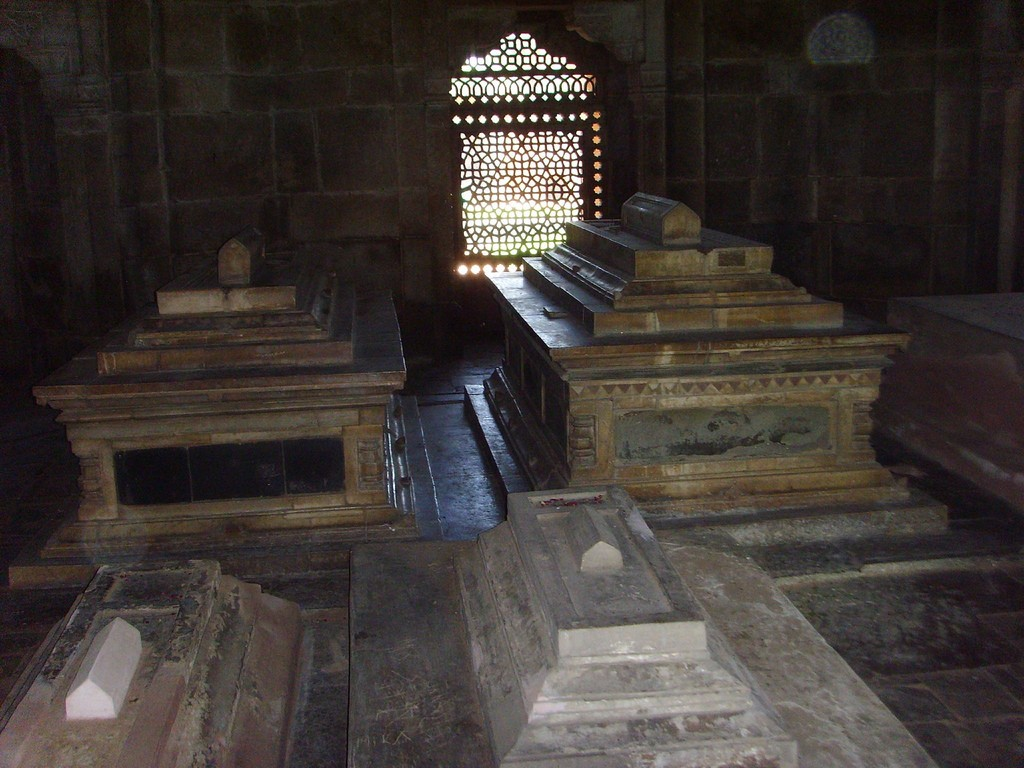 Tombs at the Humayun complex|©Flickr/stevekc