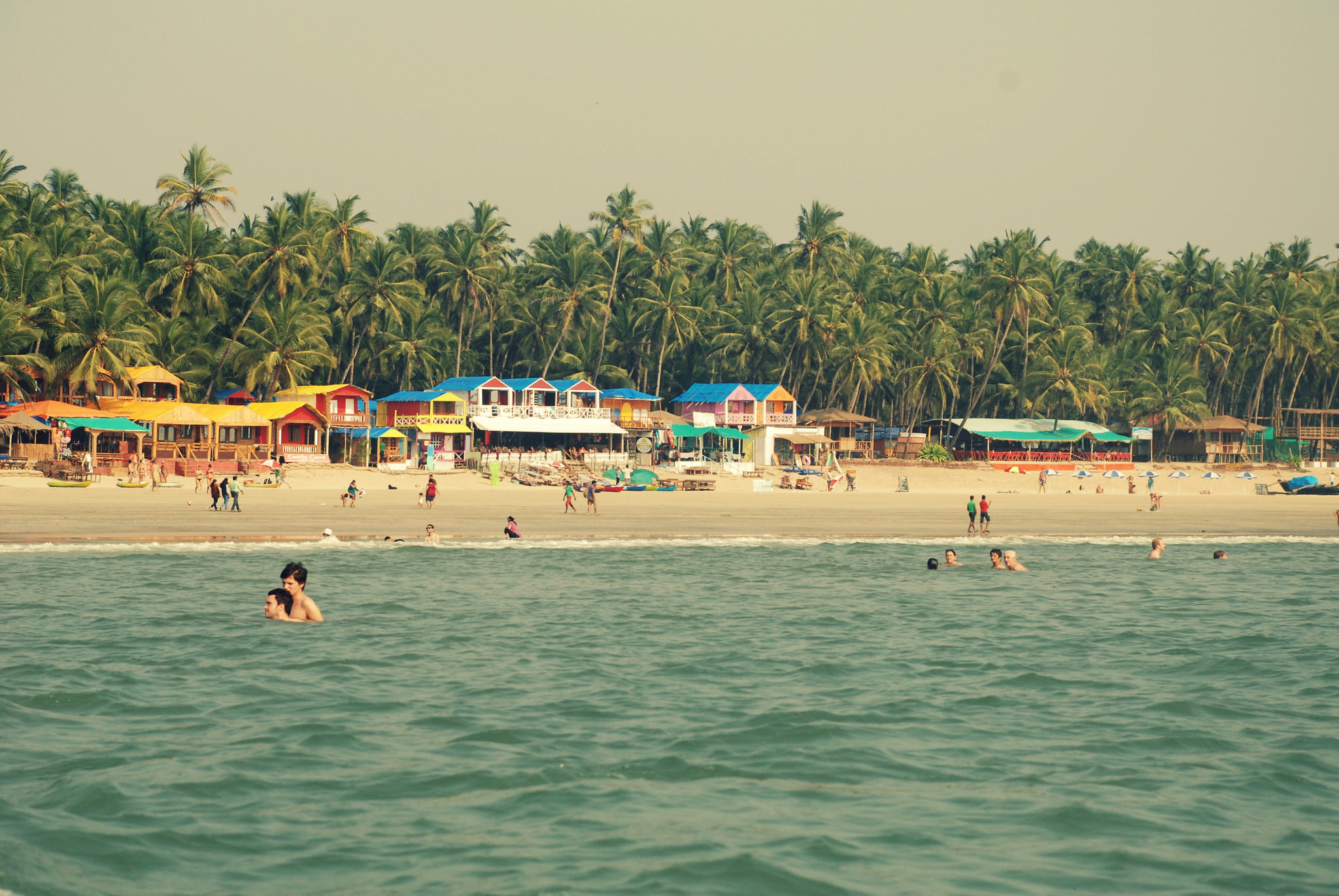 Postcard perfect Palolem beach © Flickr/Mathanki Kodavasal