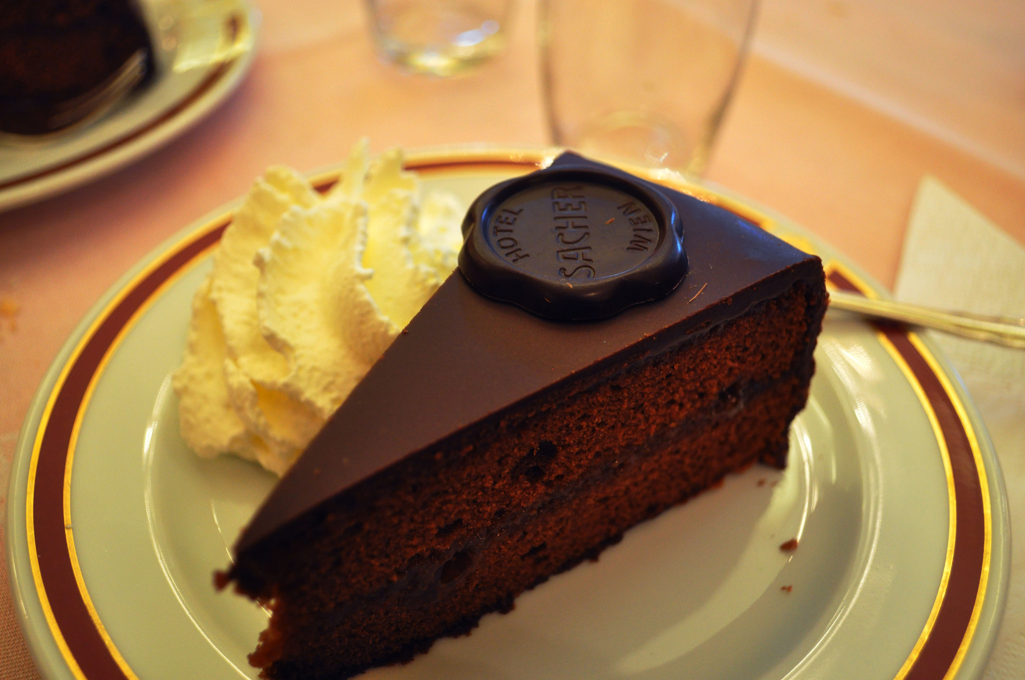 The classic Sachertorte