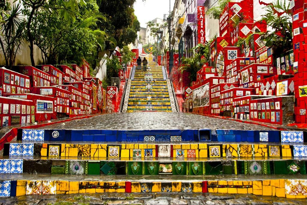 Escadaria do Selarón ©Collectif Les Enfants