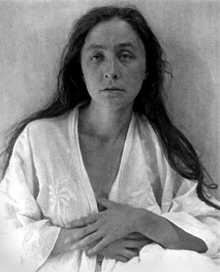 A Stieglitz portrait of Georgia O'Keeffe.| © Alfred Stieglitz/wikicommons