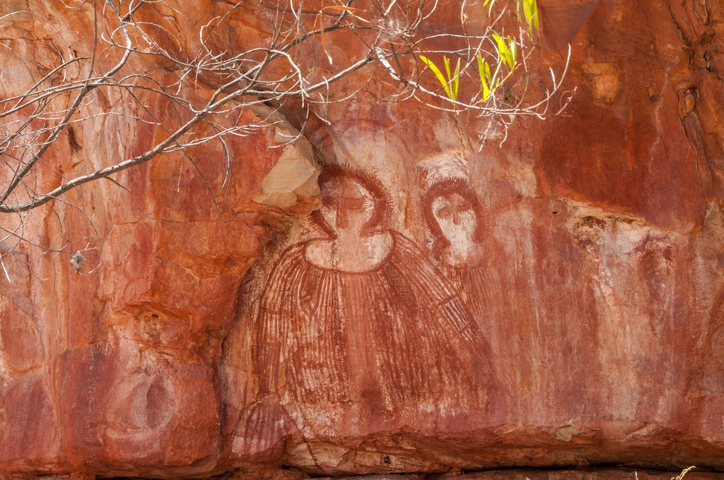Aboriginal Art on the Barnett River, Mount Elizabeth Station | © Graeme Churchard