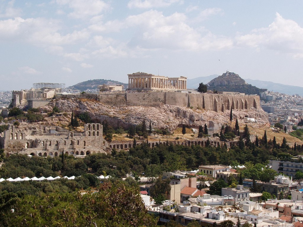 Acropolis in Athens, Greece | © Adam L. Clevenger/Wikicommons