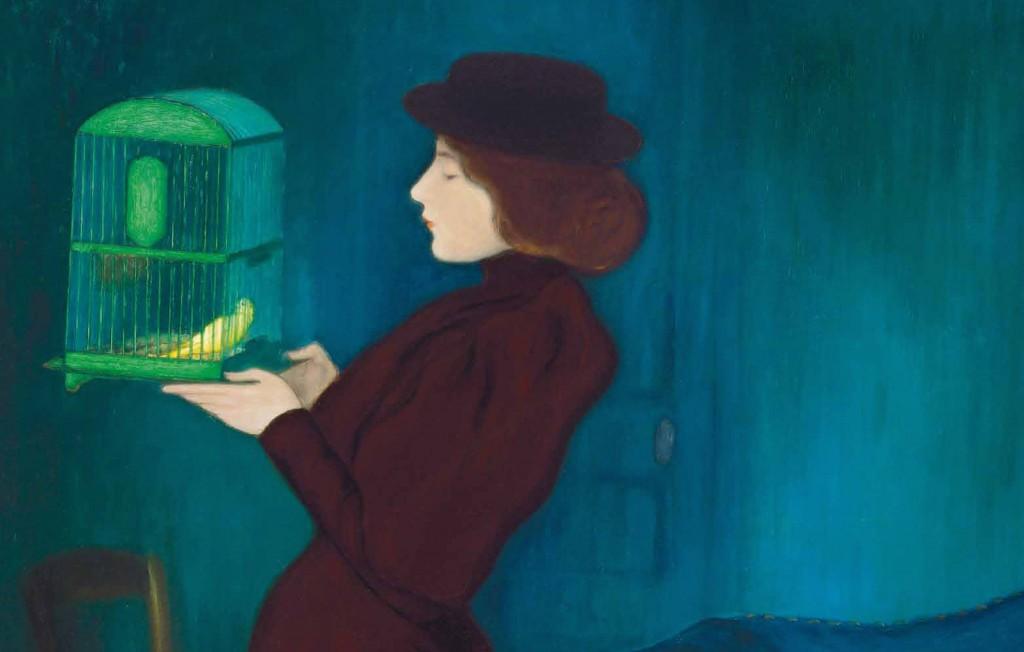 József Rippl-Rónai Kaposvár, 1861 – 1927 Femme à la cage 1892 Huile sur toile, 185,5 x 130 cm Budapest, Galerie nationale hongroise © Galerie nationale Hongroise, Budapest 2016