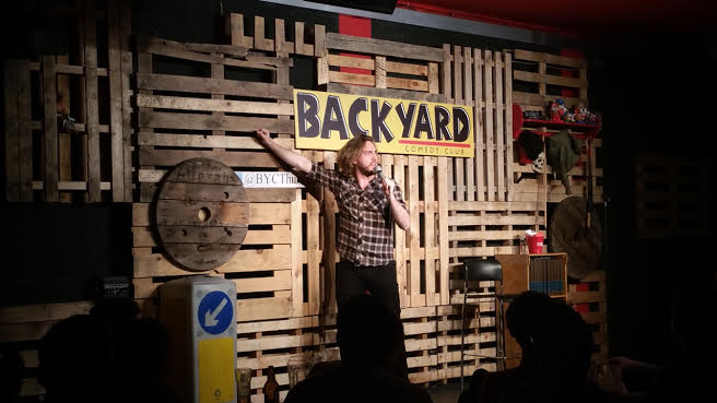 stage courtesy of backyard comedy club