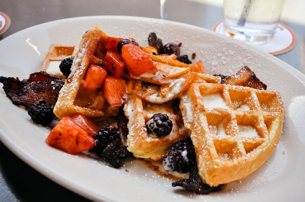 Bacon Waffle | © Tanya Wardell