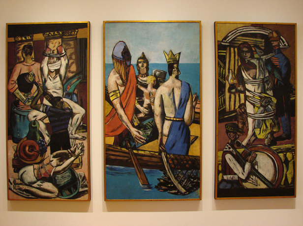 the story of max beckmann  germany u2019s mystery painter