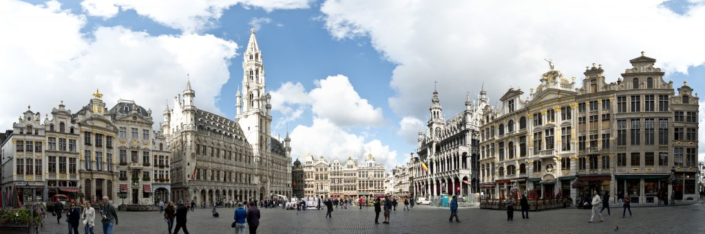 The Grand Place|© Brussels Panorama, Steve Collis/ Wiki Commons