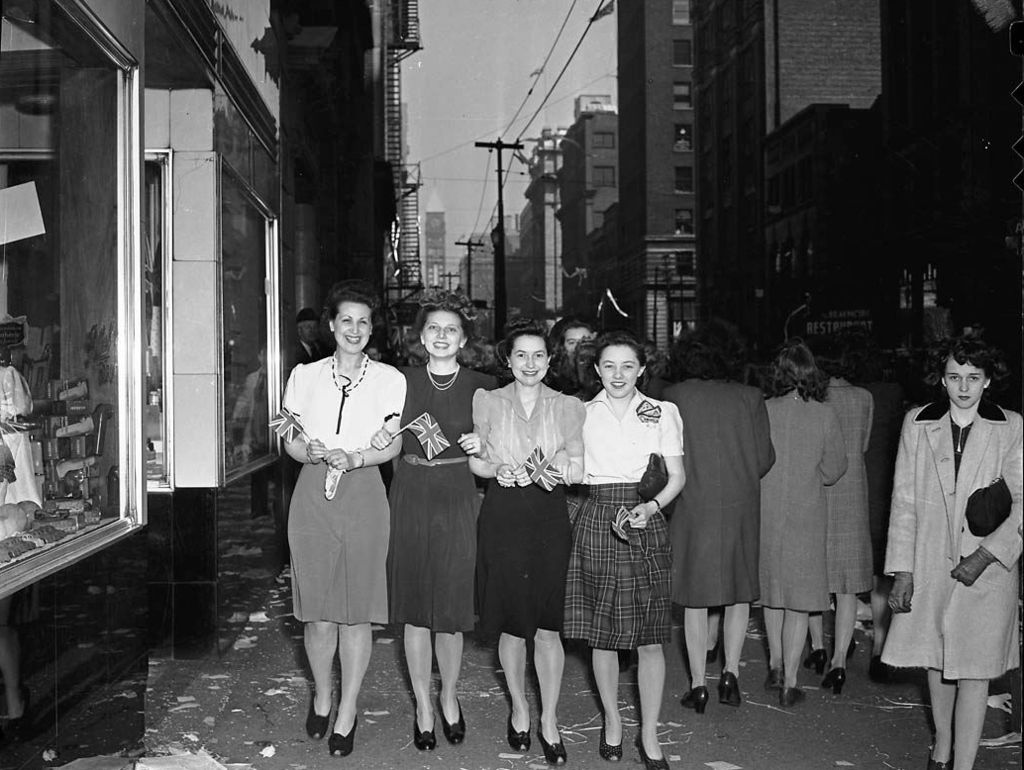 A Brief History Of Ve Day In Toronto May 1945