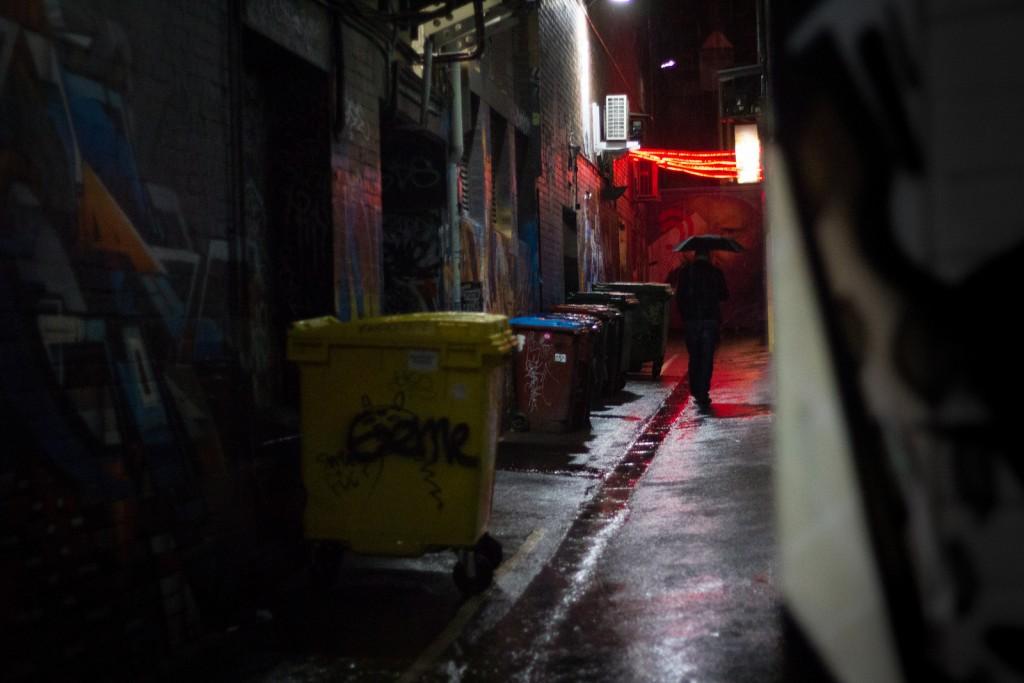 Croft Institute & the graffiti in and around Croft Alley | © Zanmanken