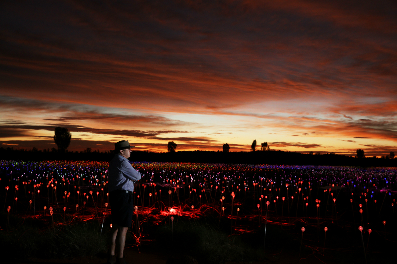 Spectacular Field Of Light Installation Comes To Uluru