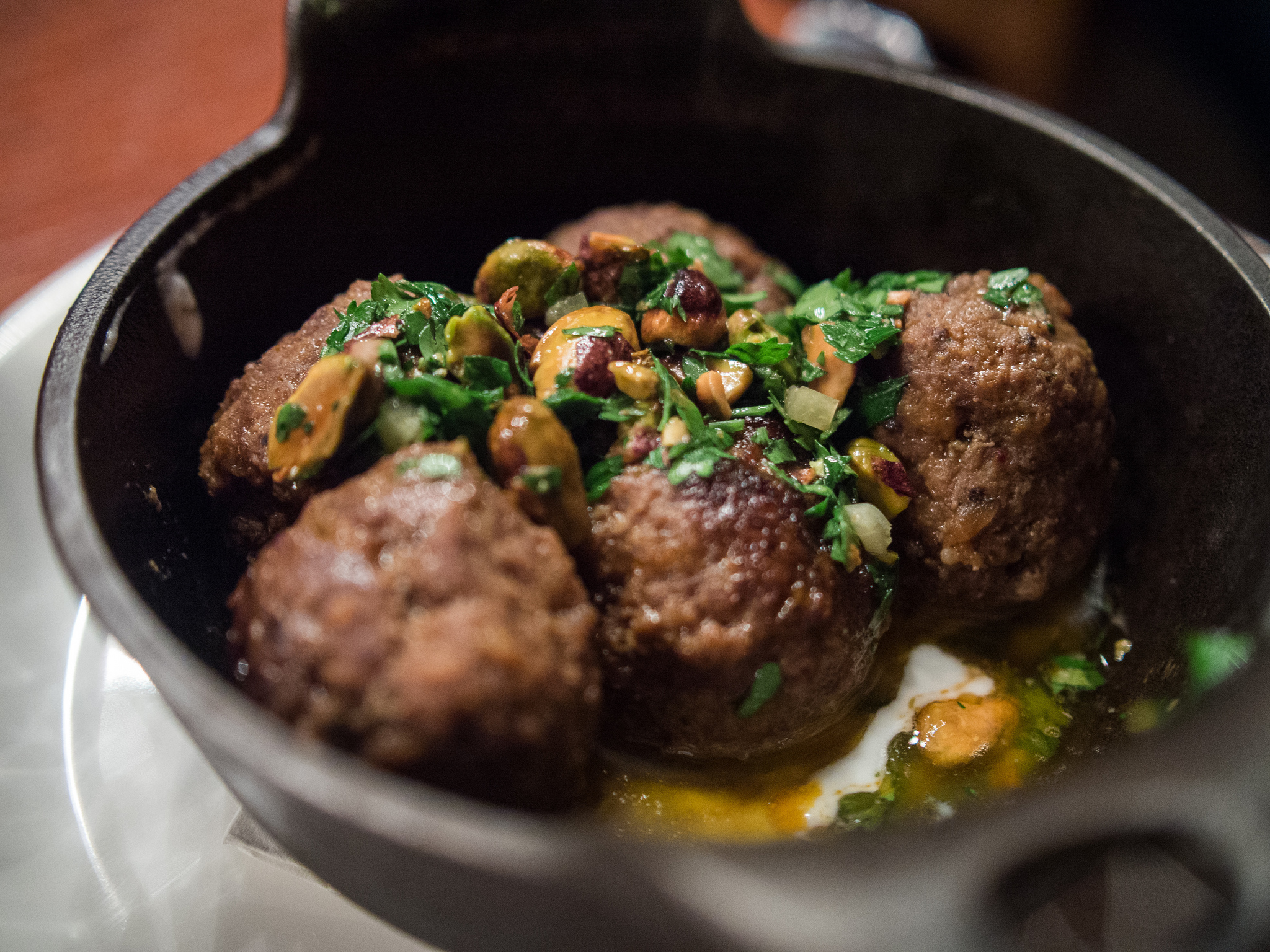 Found Kitchen - Lamb Meatballs| © Edsel Little/flickr
