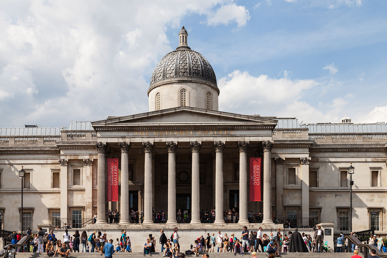 National Gallery, London, England | © Diego Delso/WikiCommons