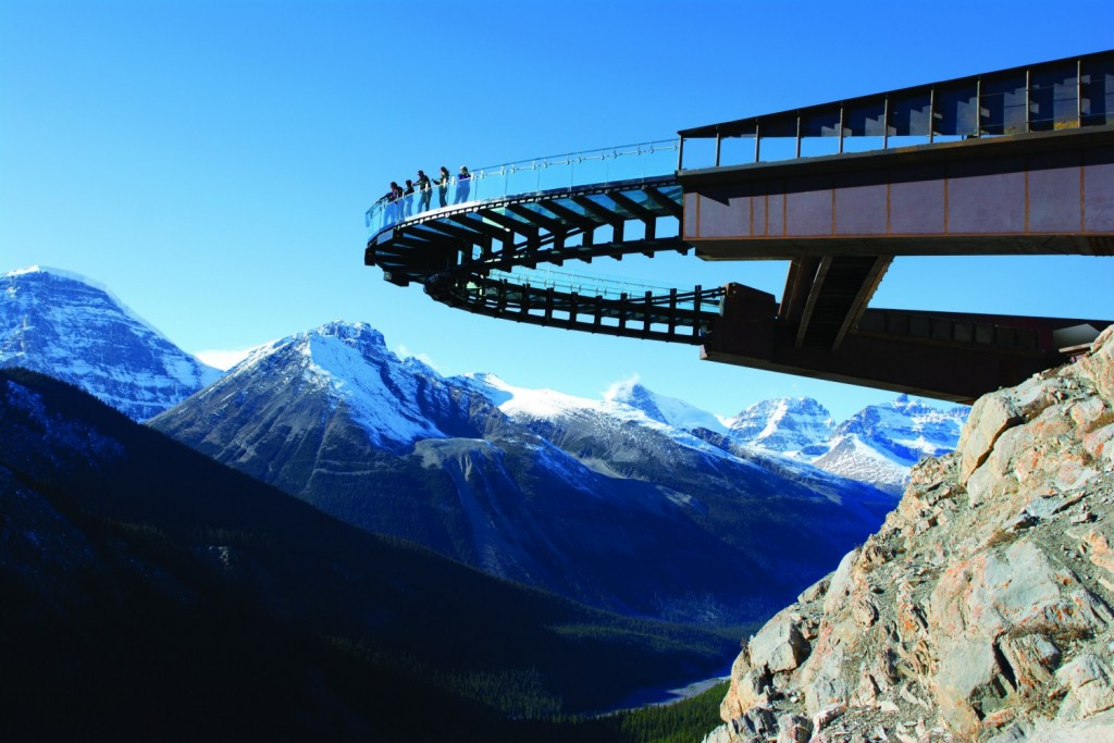 Glacier Skywalk, Alberta, Canada | Courtesy Brewster Travel Canada