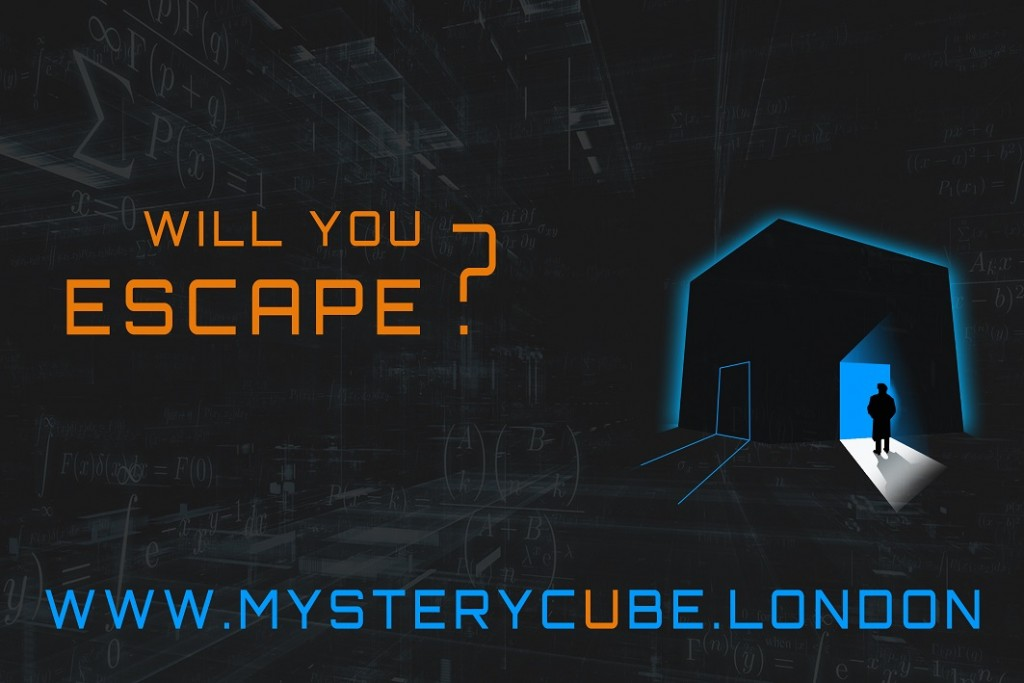 Will you escape? | Courtesy of Mystery Cube