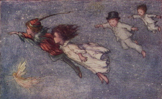 Peter Pan Exhibition | Courtesy of Great Ormond Street Hospital Children's Charity