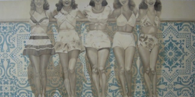 Five Pretty Ladies by Jhina Alvarado | Courtesy of Jhina Alvarado
