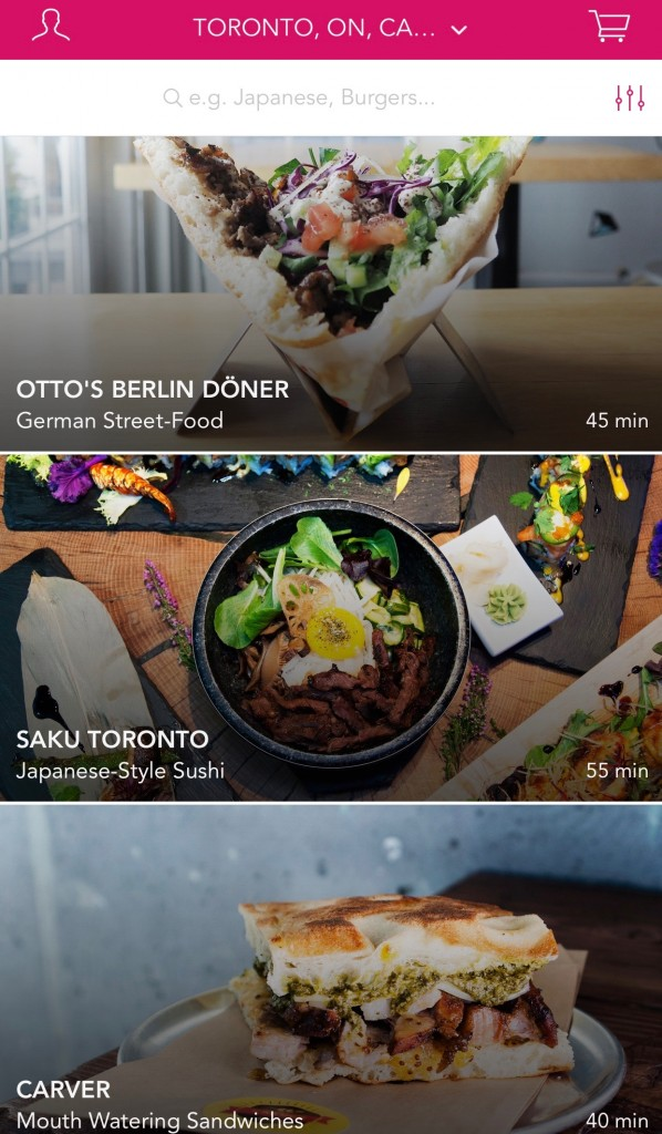 Best Foodora Restaurants Toronto