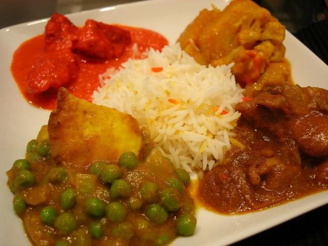 Food at India Feast | Courtesy India Feast