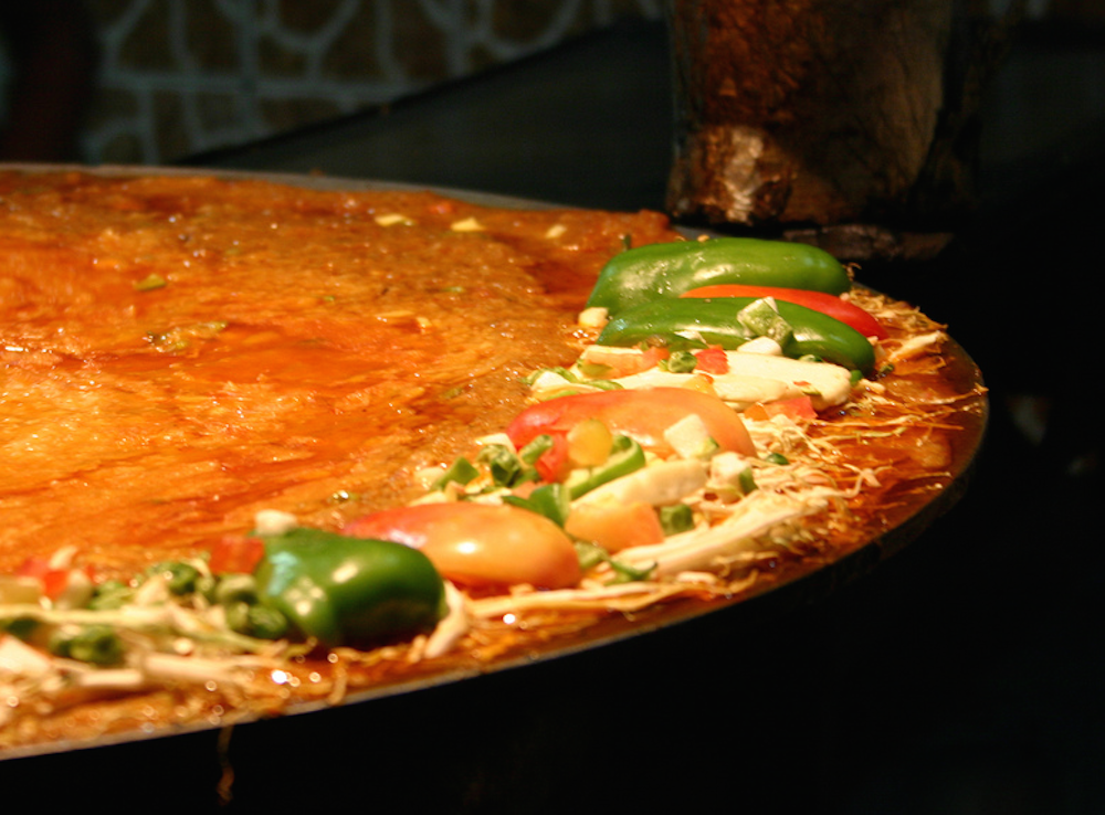 Try pav bhaji, a mash of vegetables served with a bun © Prateek Rungta / Flickr