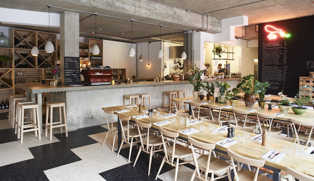 Things to do and see in bethnal green - Restaurant communal tables ...