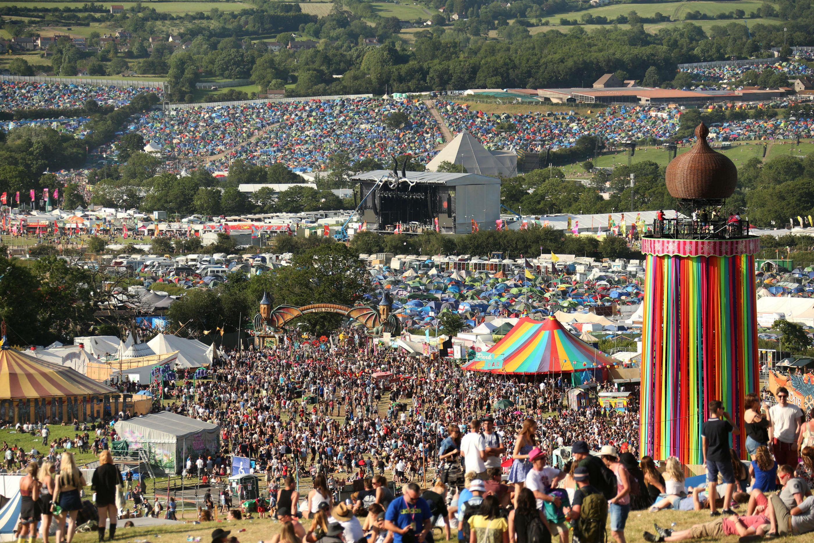 Image result for glastonbury festival