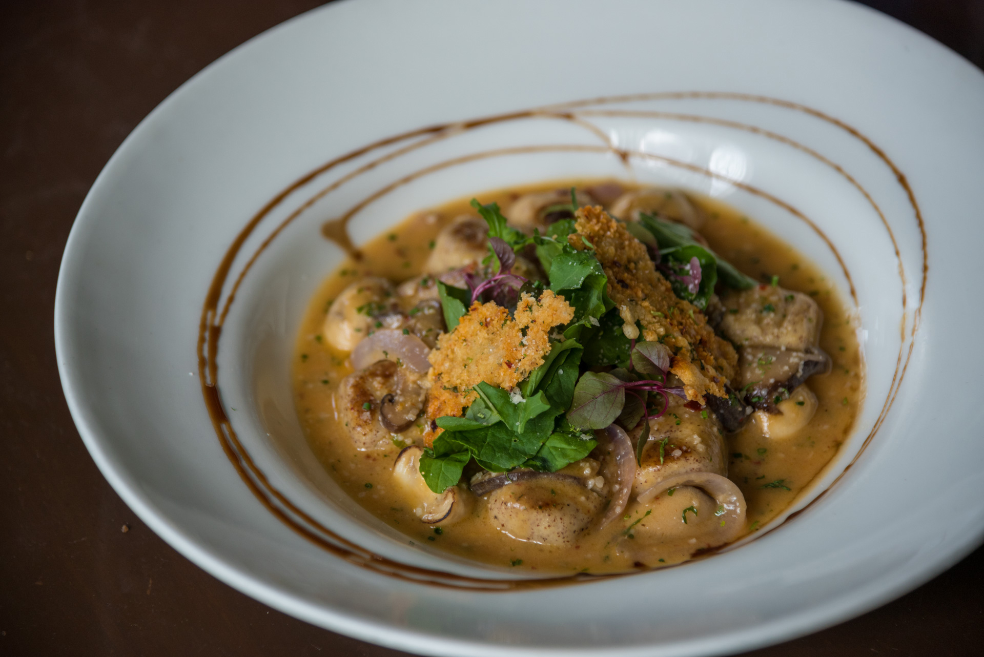 Jowar Gnocchi and Mushroom Fricasse/©Smoke House Deli