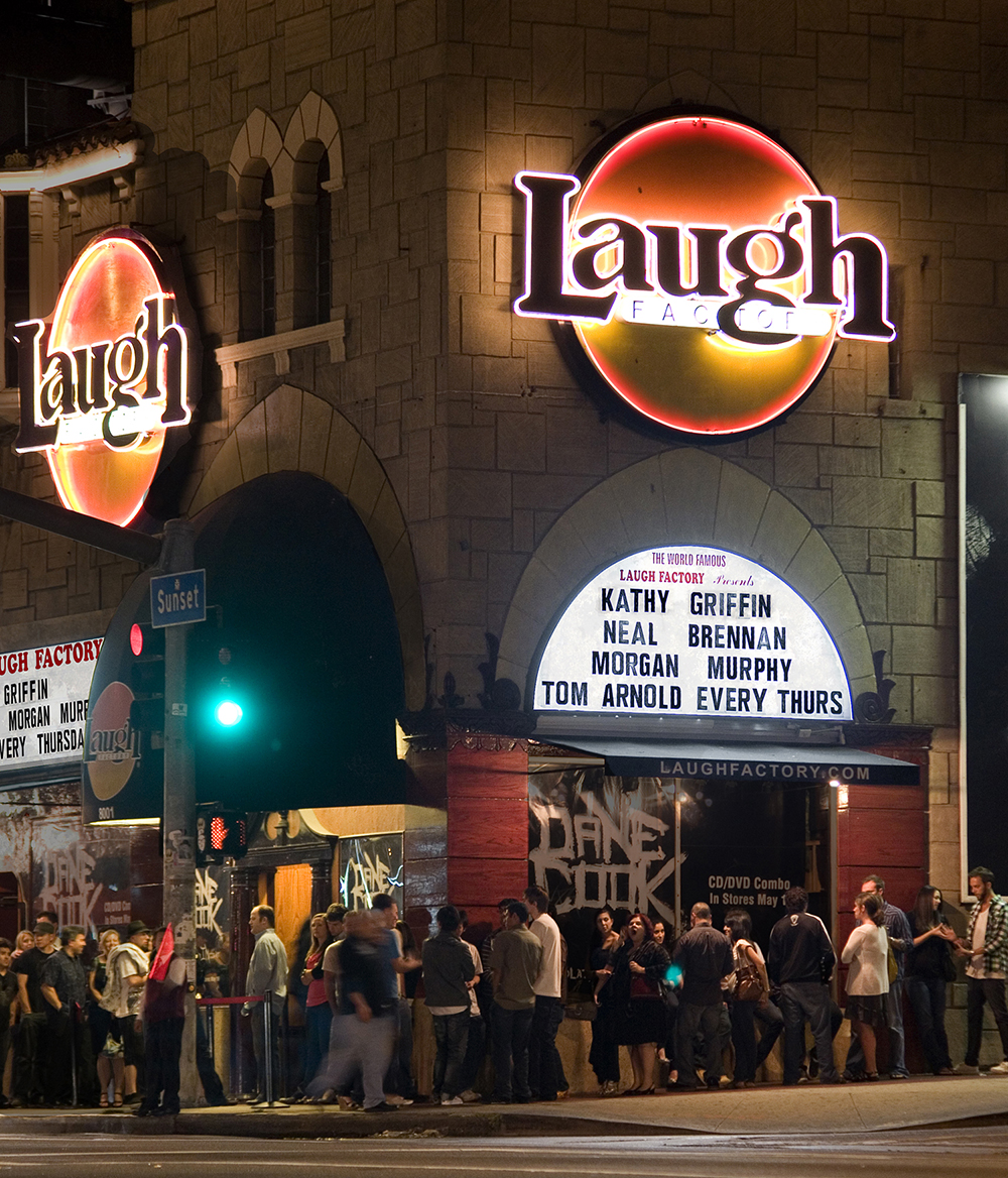 Laugh Factory Hollywood Outside