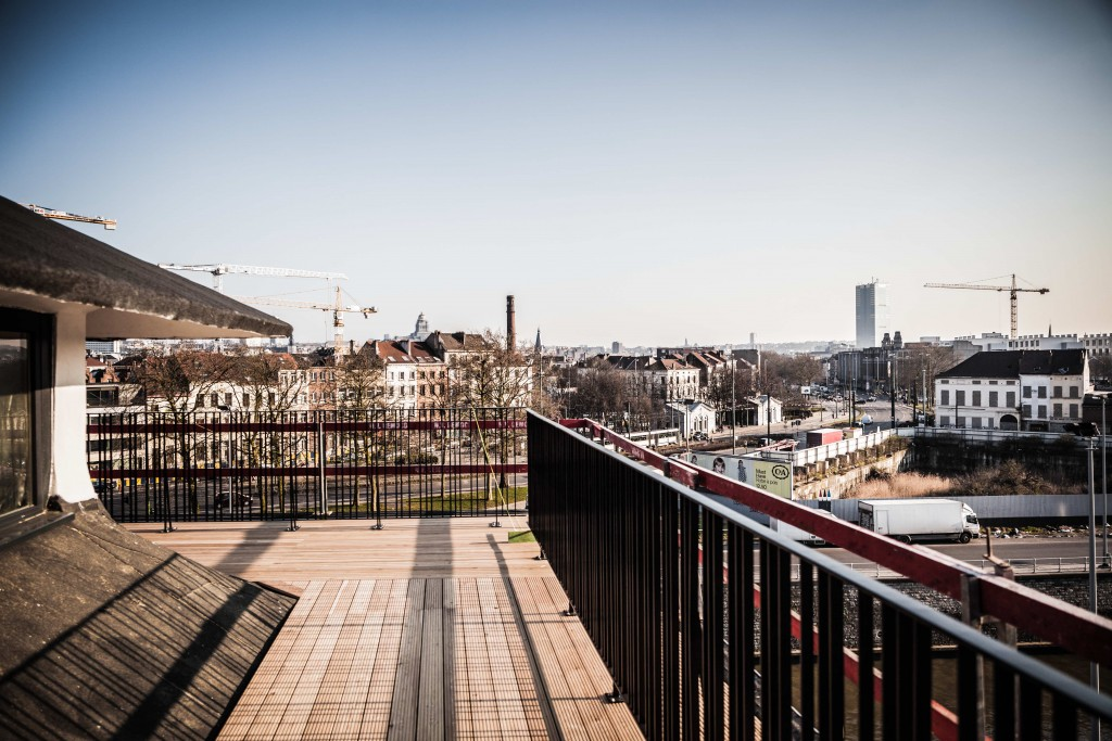 The panoramic view from atop the MIMA terrace | © Gautier Houba / courtesy of the MIMA Museum