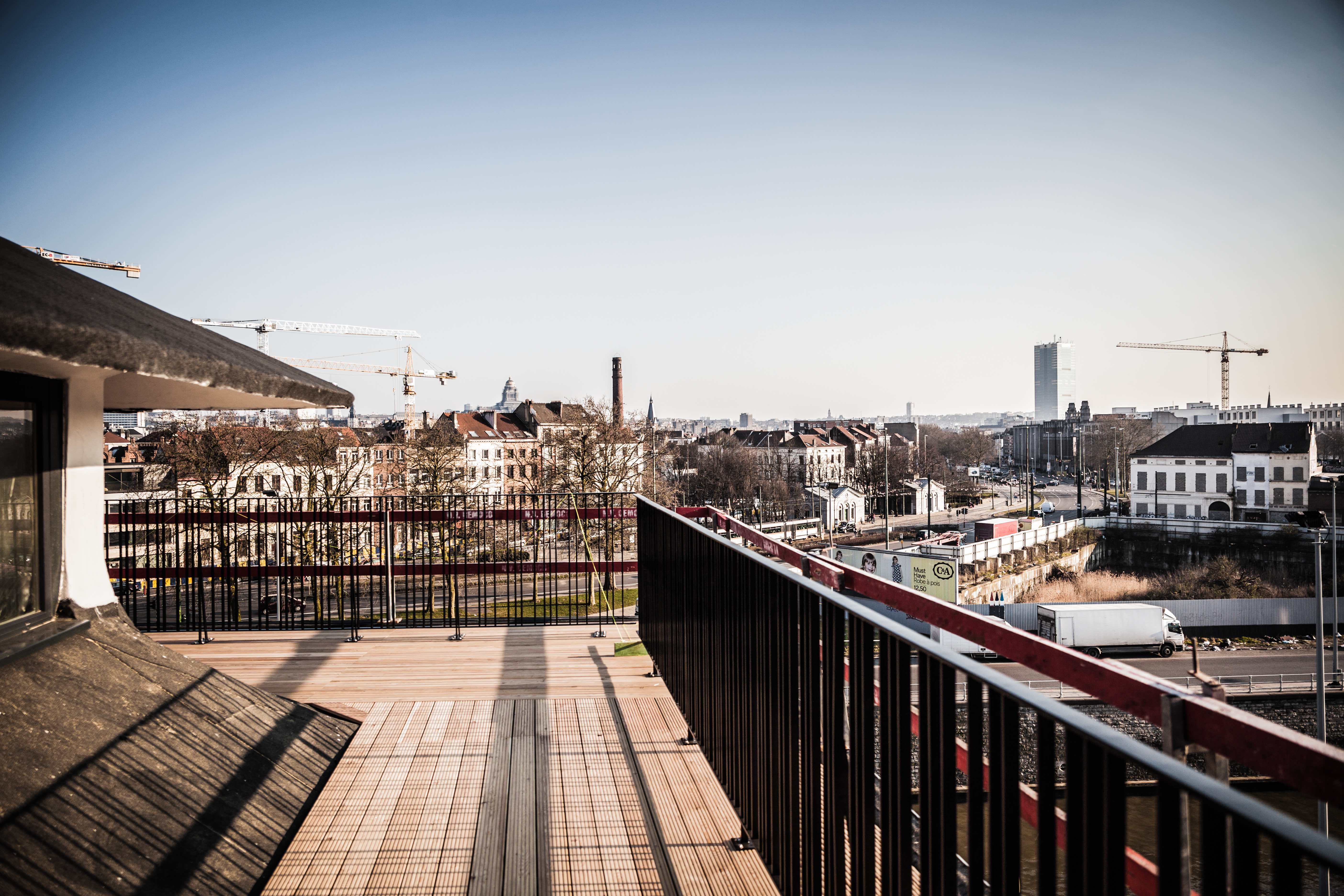 The view from atop one of the MIMA terraces | © Gautier Houba, Courtesy of the MIMA Museum