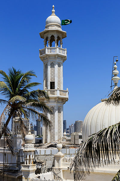 Haji Ali minaret | © A.Savin/ Wikimedia Commons