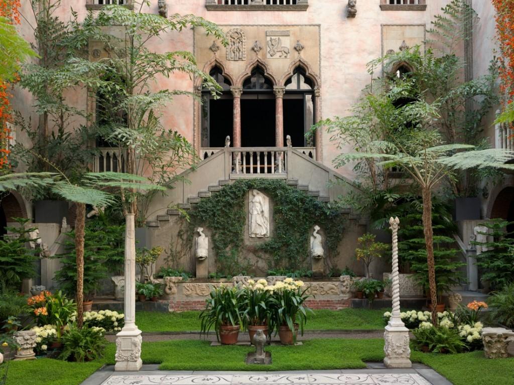 Courtyard & garden | © Sean Dungan/Isabella Stewart Gardner Museum
