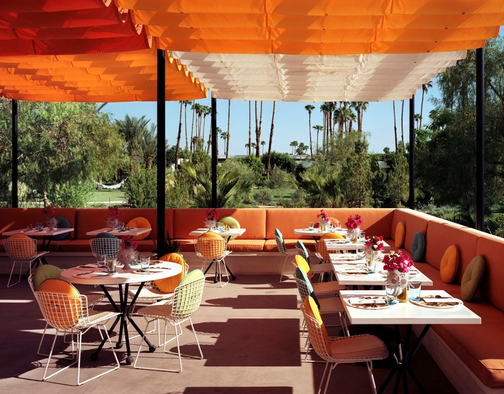 How to spend a relaxing 4 days in palm springs for The terrace hotel restaurant