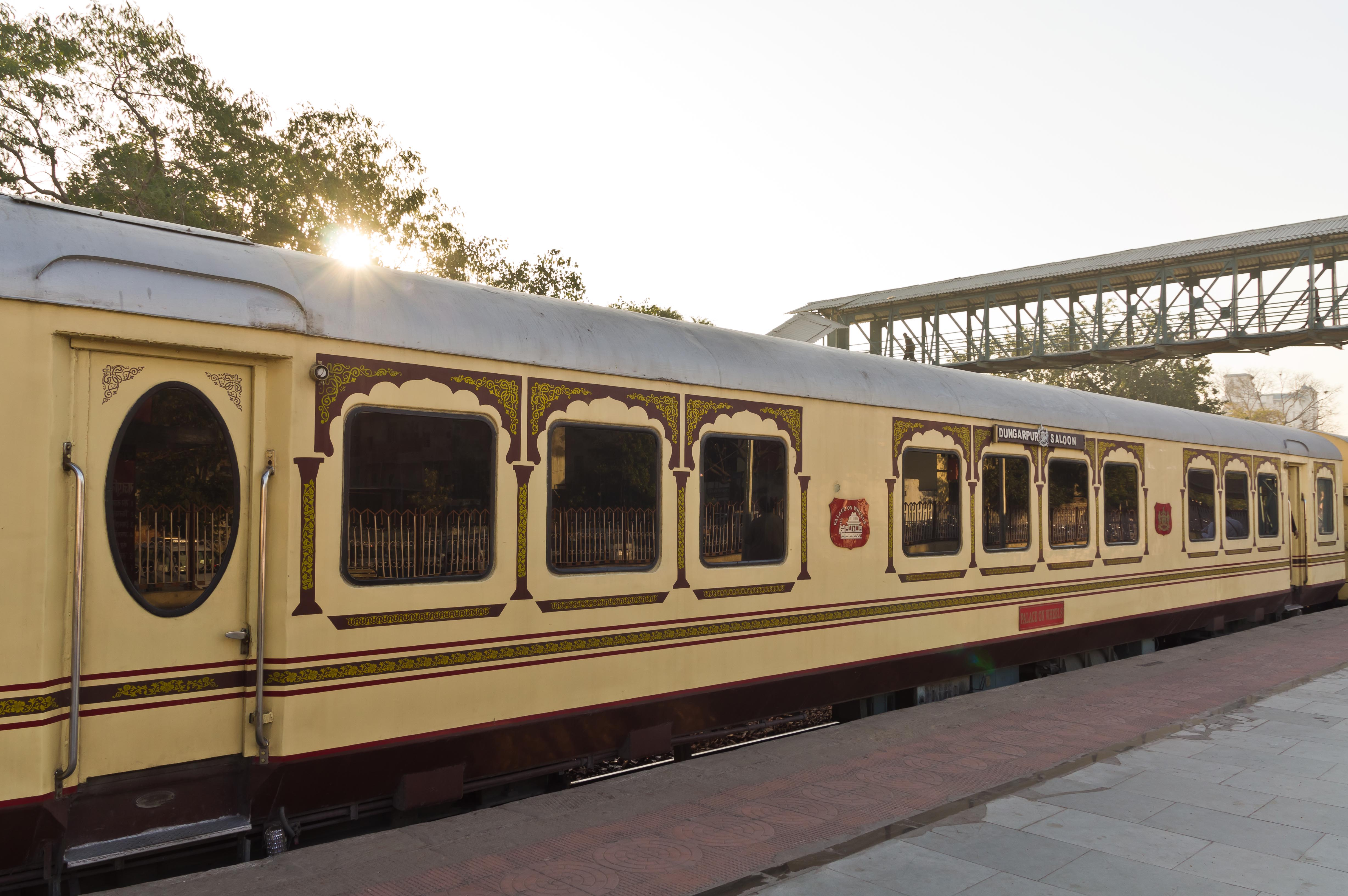 redefining luxury through the trains of india